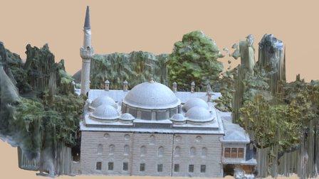 İstanbul Beşiktaş Sinanpaşa Cami 3d Modeli 3D Model