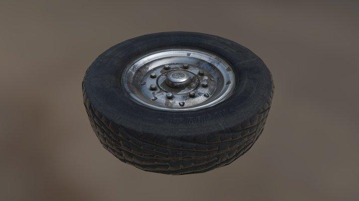Sparewheel 3D Model