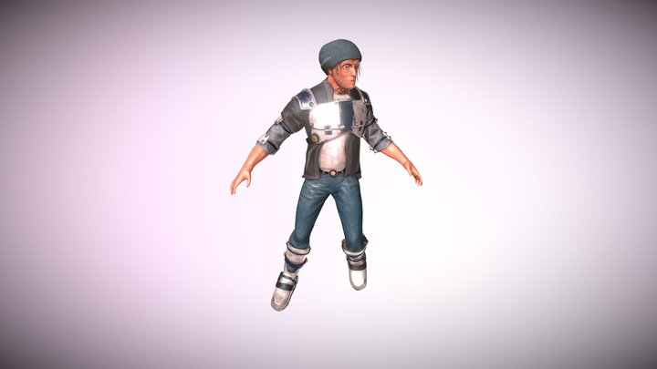 Perso Skinning 3D Model