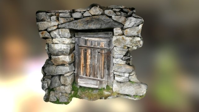 Dungeon Entrance 3D Model