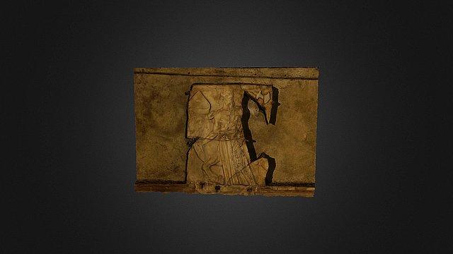 Lastra marmorea museo diocesano Albano Laziale 3D Model
