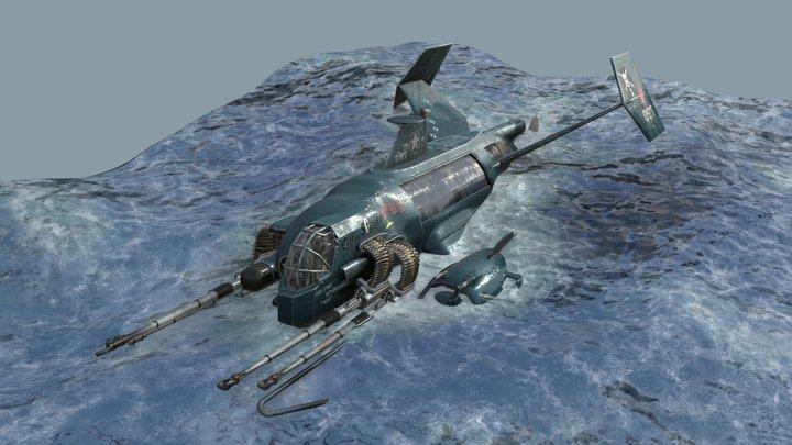 Sea Wraith 3D Model