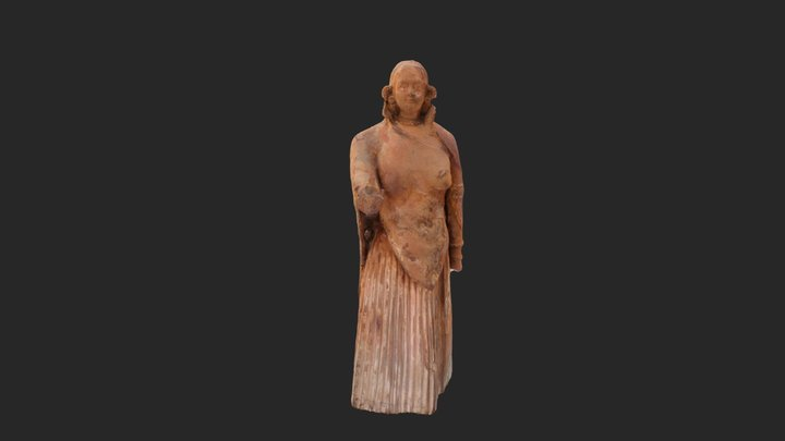 Is This The Calusa Princess Dona Antonia? 3D Model