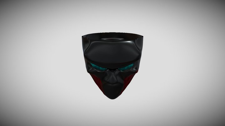 Shadow Lucius Mask 3D Model