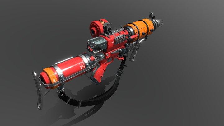 Flamer 3D Model