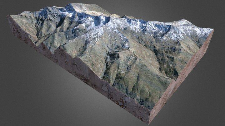 Sierra Nevada 3D Model