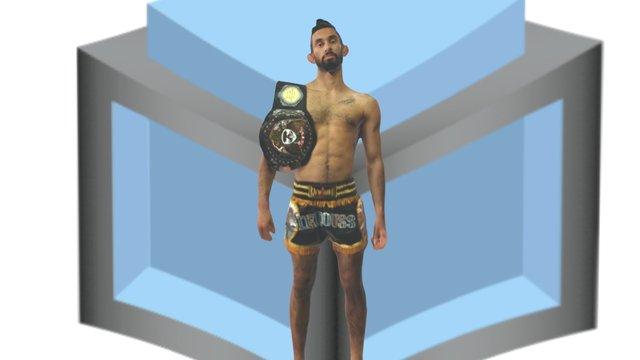 Johnny 'D' w/ belt 3D Model