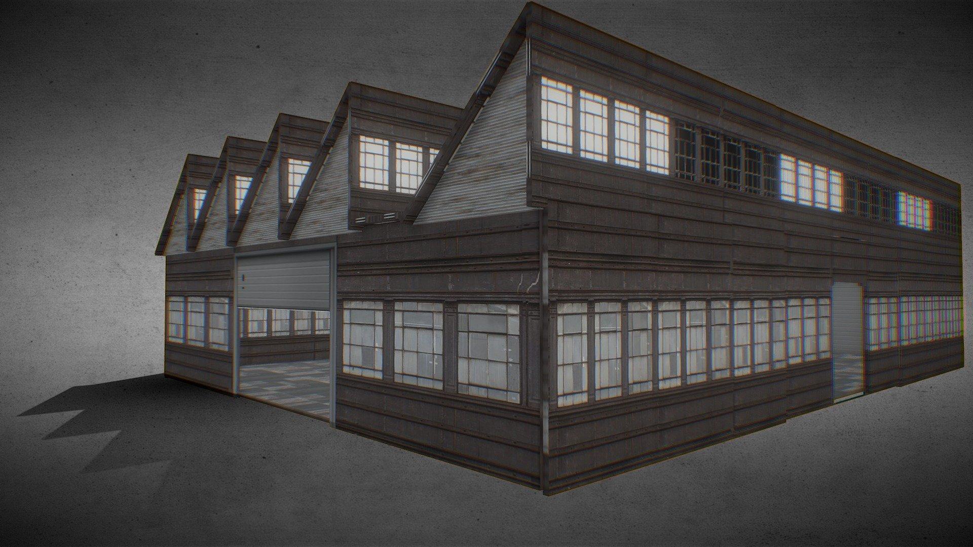 Warehouse 3D model realtime | CGTrader