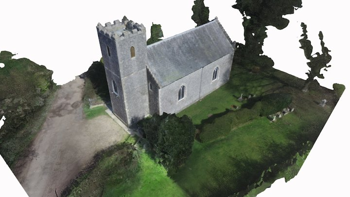 chapel Inspection 3D Model