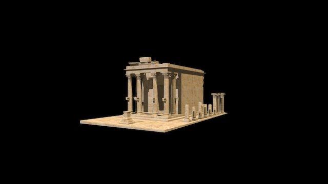 Temple of Baalshamin 3D Model