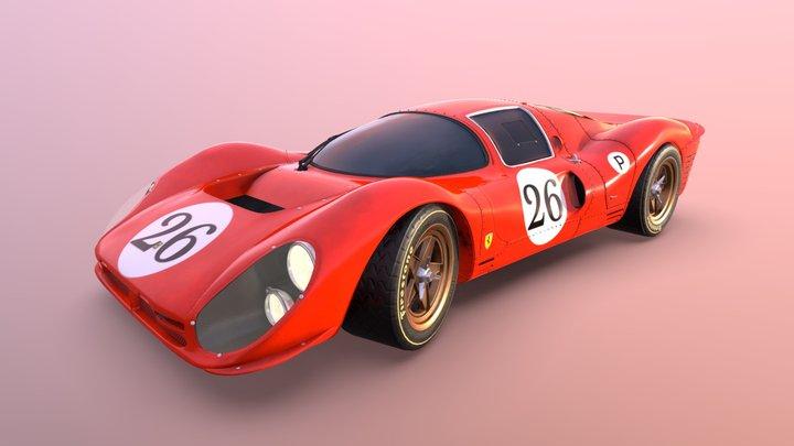 Ferrari 330 P4 3D Model