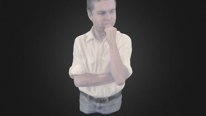 Rafa Castrej�n 3D Model