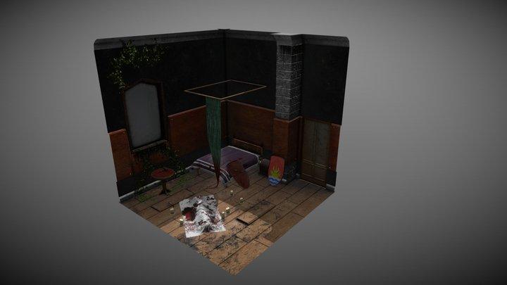 Transylvanian Murder - Blood Spilled 3D Model