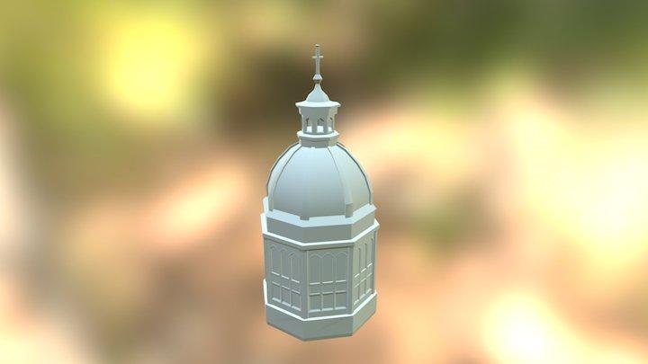 Basiliek van de H. Nicolaas (Nicolaaskerk) 3D Model