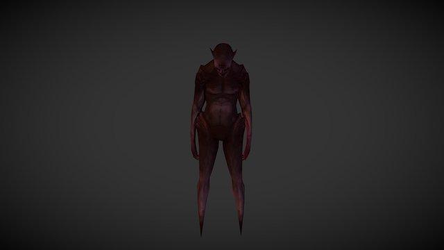 Lowpoly_Demon 3D Model