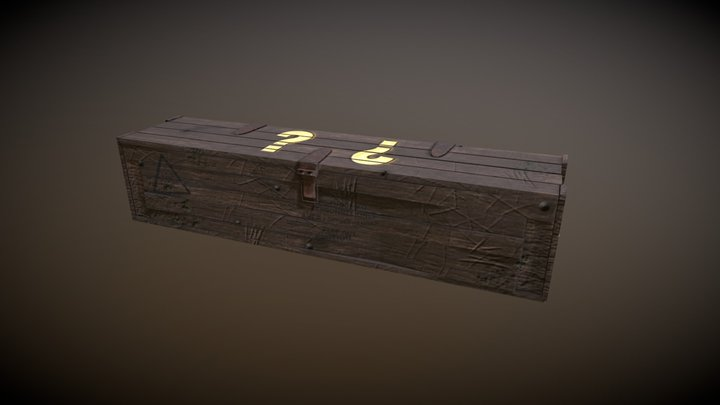 Mystery Box 3D Model