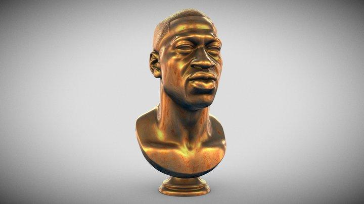 George Floyd Memorial Bust 3D Model