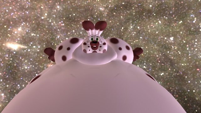 Fat Bunny Week - Puddle 3D Model
