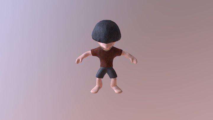ZTShiraishi22 (Bake Mesh Maps) 3D Model