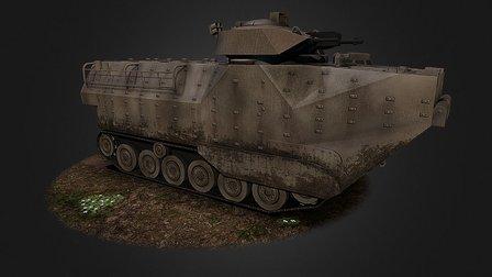 AAV 3D Model
