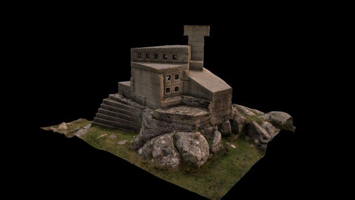 Hermit's Castle, Achmelvich 3D Model