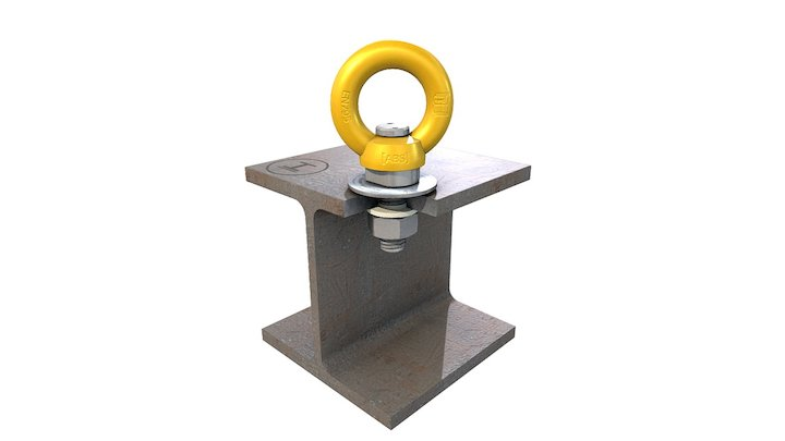 ABS-LOCK® III-R Stahl (kontern) 3D Model