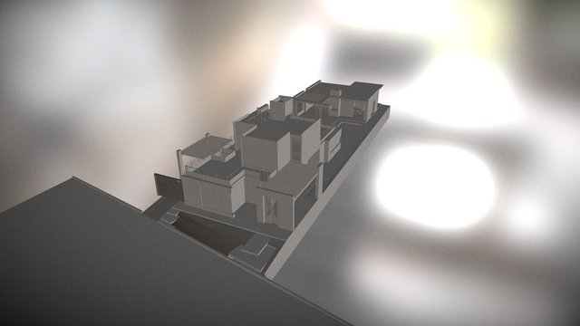 CASA en LA BASTILLA 3D Model