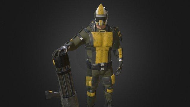 Character Model of Waex 3D Model