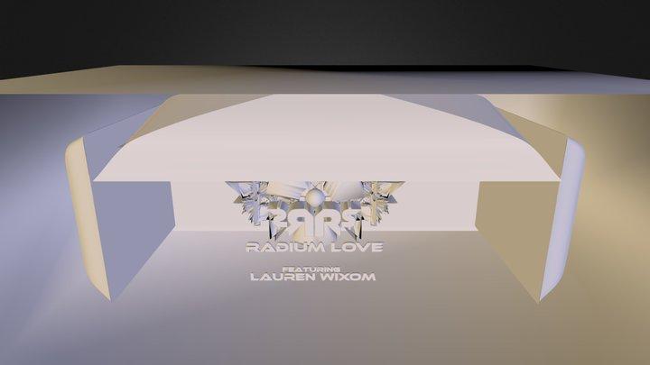 Radium Love Album Art 3D Model
