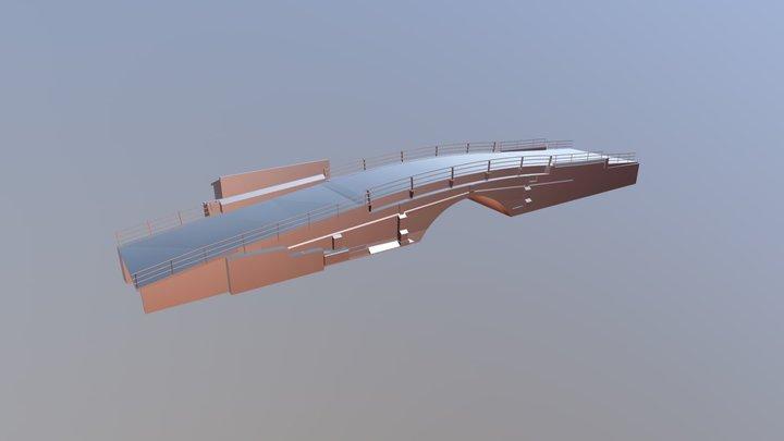 3D Bridge Scan 3D Model