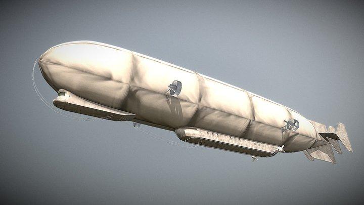 AOT Marley Airship 3D Model