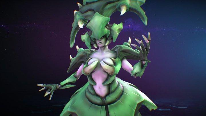 Lagnara : Heroes Of The Storm FanArt 3D Model