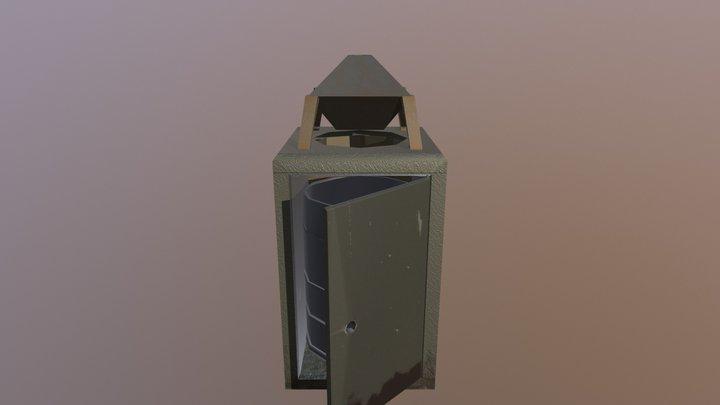 Sf Trashcan 3D Model