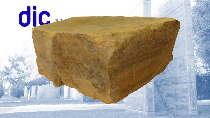 046 Sandstone El Campello 3D Model