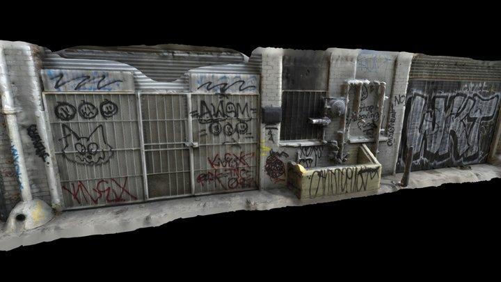 Back Street Alley Photogrammetry Scan 3D Model