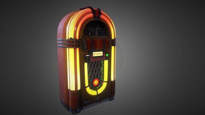 Vintage Jukebox - Model Wurlitzer 1015 (NEW) 3D Model