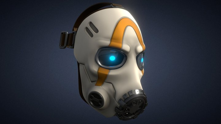 Borderlands 3 Psycho Mask 3D Model