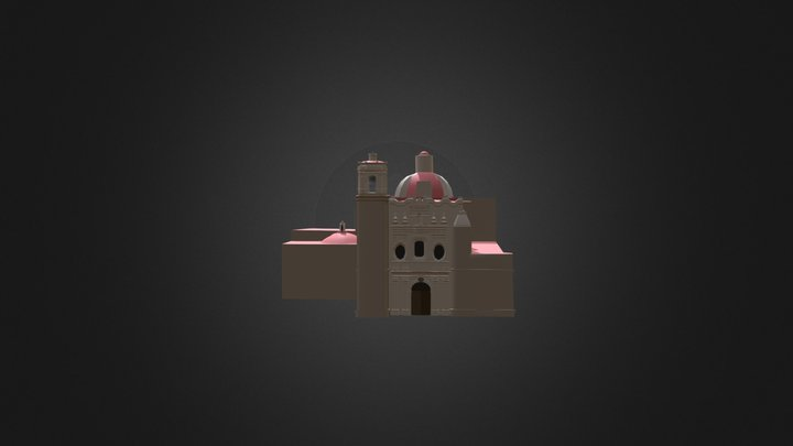 Templo y exconvento de San Francisco 3D Model