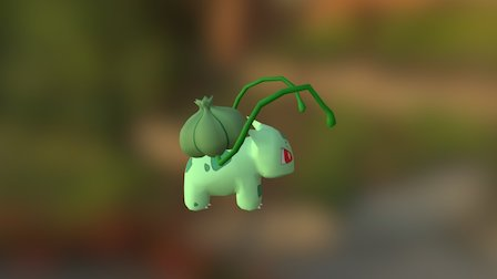 Bulbasaur 3D Model