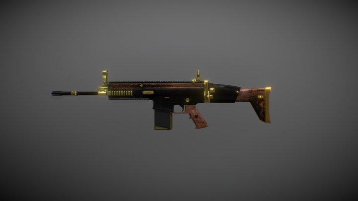 SCAR-H | LORD 3D Model