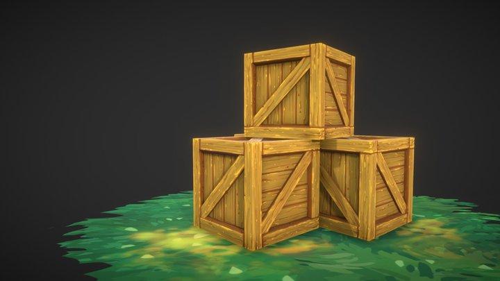 3D COAT   BOX   CG SHARE   VRGAME 3D Model