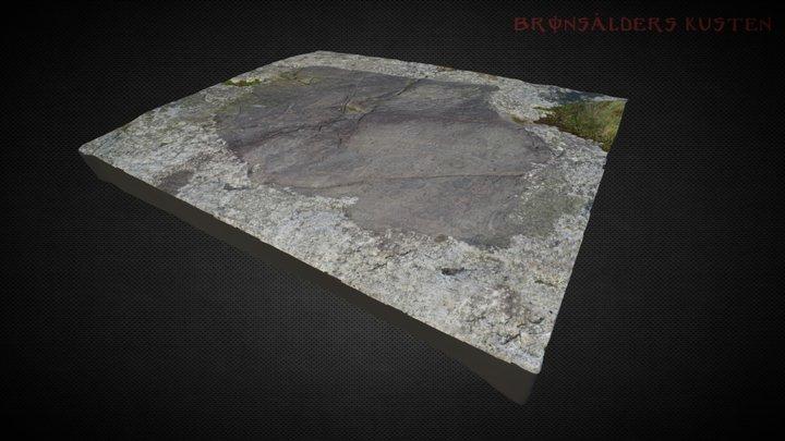 Hällristning Gamleby 3D Model