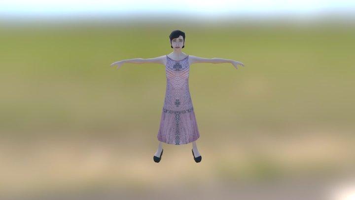 Bailarina 3D Model