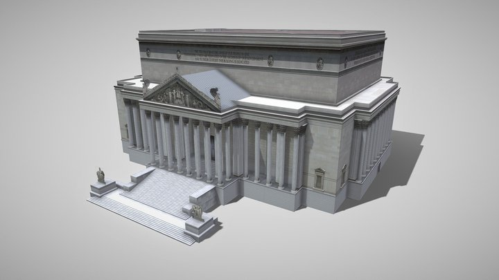National Archives Research Center 3D Model