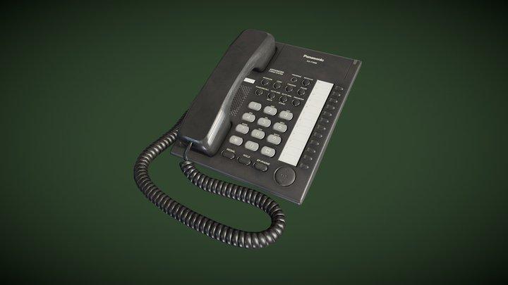 Panasonic Office Phone 3D Model