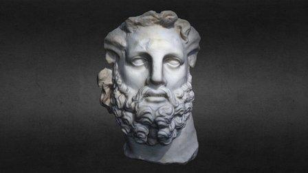 Ancient Marble Roman Statue 3D Model