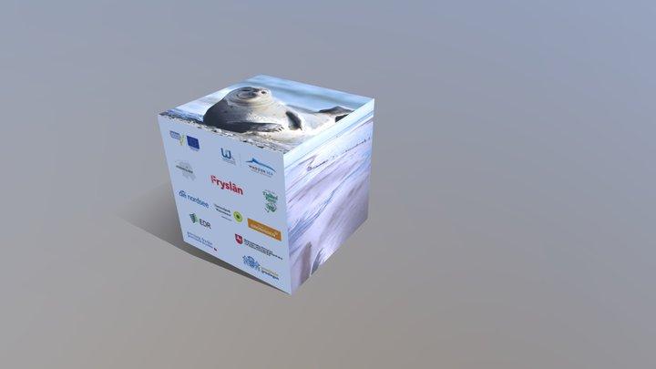 Werbewürfel 01 3D Model