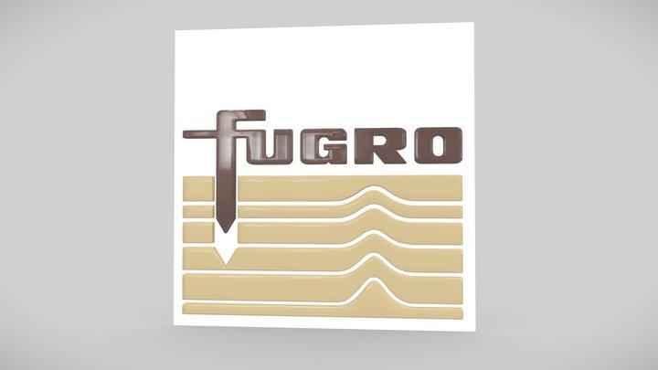Fugro Logo 3D Model