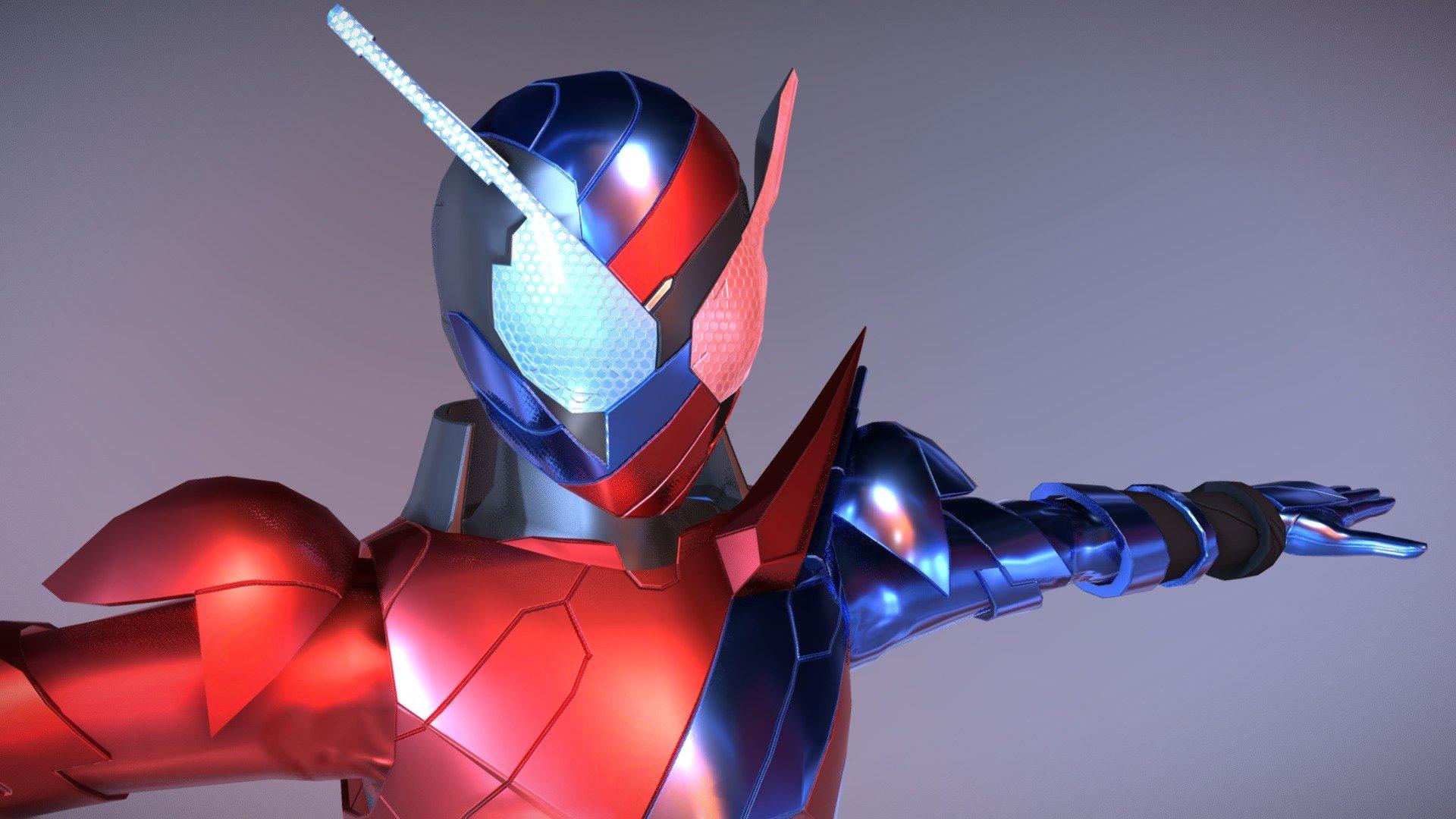 Kamen Rider Build Wip 3d Model By Be03kou Be03kou 0cb3396