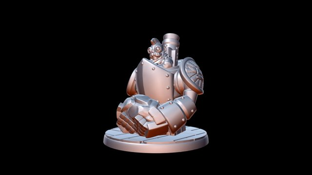 Dwarfclan Stonethrower 3D Model
